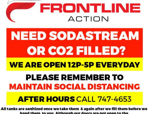 Need Sodastream of CO2 Filled?