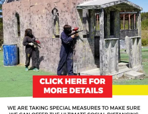 Low Impact or Standard Paintball – Social Distancing Edition